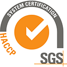 SGS HACCP System Certification logo